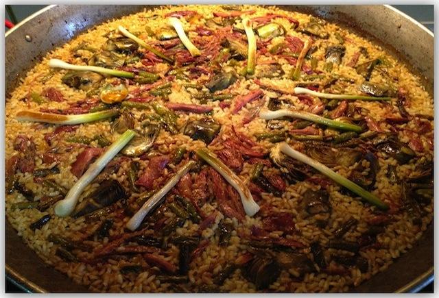 El secreto de la cocción del arroz en paella tipo valenciano «La técnica Berlanga»