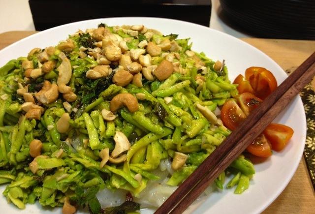 Ensalada vietnamita de calamares