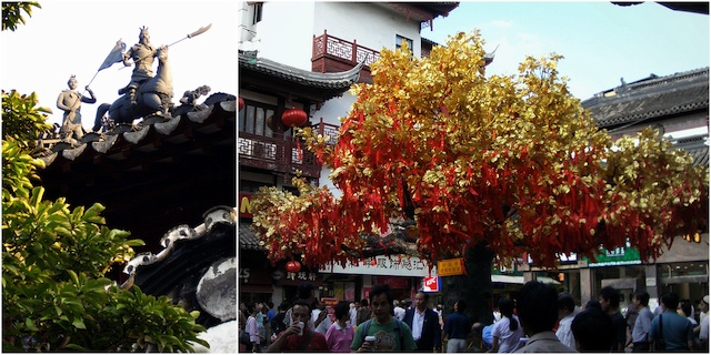 Los Jardines de Yuyuan. Shaghai 1