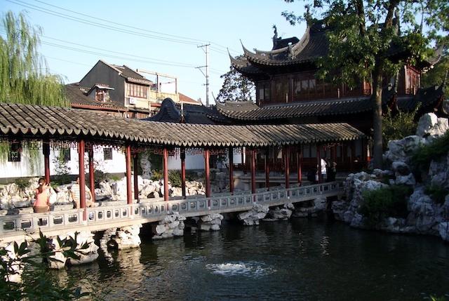 Los Jardines de Yuyuan. Shaghai 4