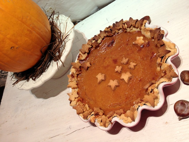 Pumpkin pie. De Thanksgiving a Navidad IV. Tarta de Calabaza