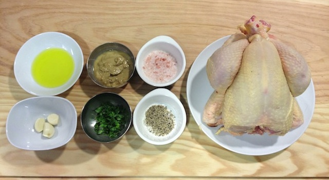 C70 Loleta chicken with mustard ing