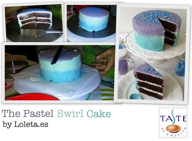 The Pastel Swirl Cake