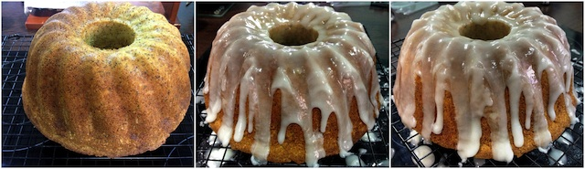 Bundt cake de limón con semillas de amapola 7