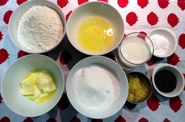 Bundt cake de limón con semillas de amapola 5