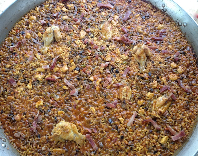 C87 Loleta 16 field paella rice