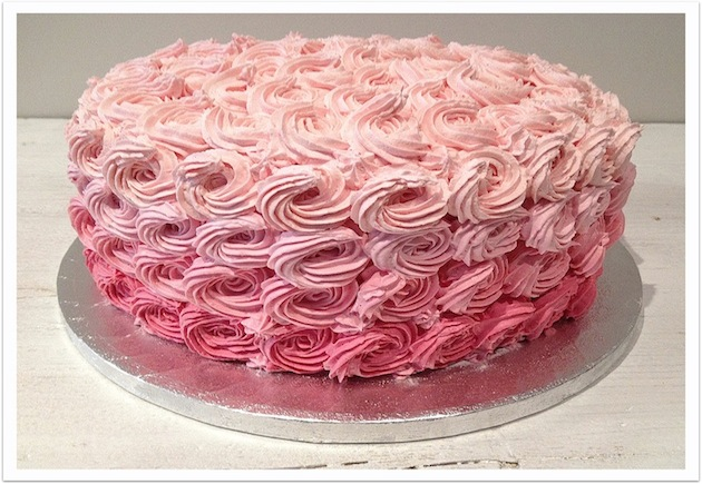 La Vie en Rose Cake
