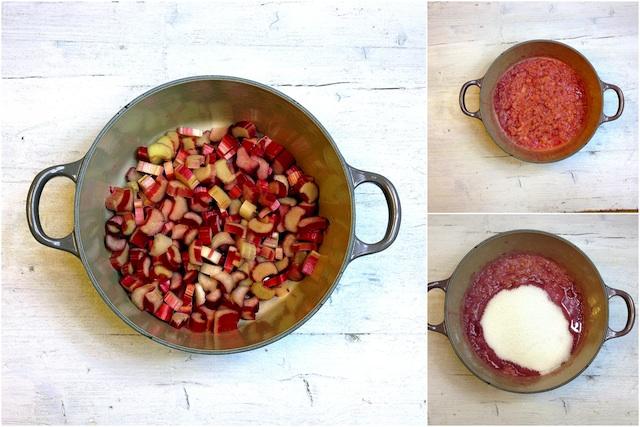 Ruibarbos (rhubarb) 3 jam