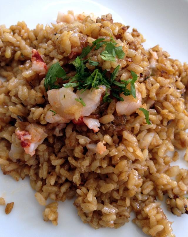 C79 rice paella with lobster 5 Loleta