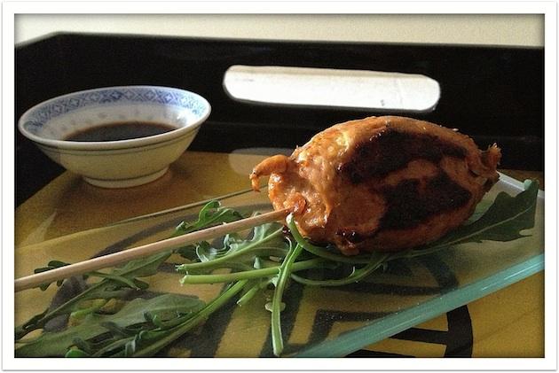 C81 Loleta Brocheta de pollo Gai Ping In Dein 17