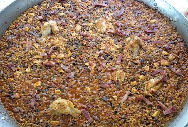 Arroz en paella del campo y la huerta (Versión take & cook)