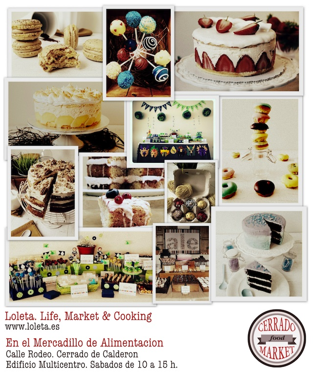 Closed Food Market Collage by Loleta 640