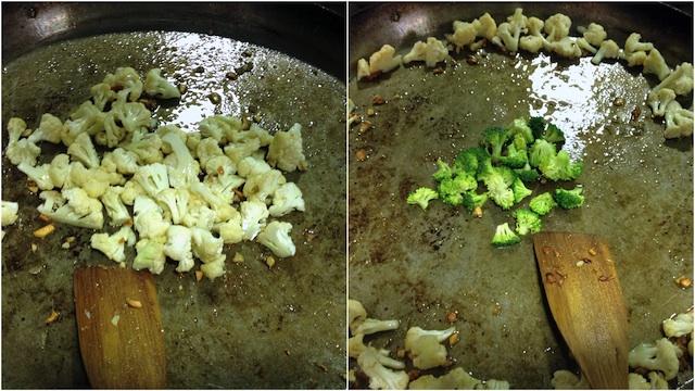 Arroz Paella Bacalao Coliflor Brocoli Loleta 5