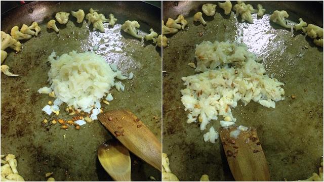Arroz Paella Bacalao Coliflor Brocoli Loleta 6