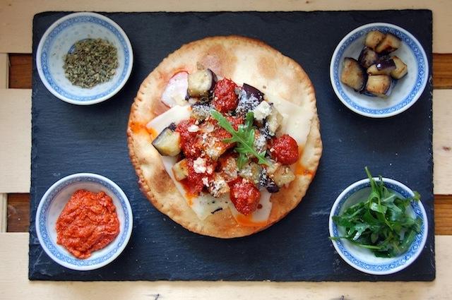 Pizza Soufflée. La pizza que se rellena.