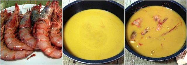 Arroz en paella con gamba roja Loleta 2