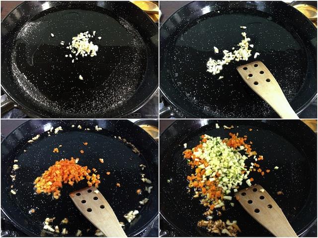 Arroz en paella con gamba roja Loleta 3