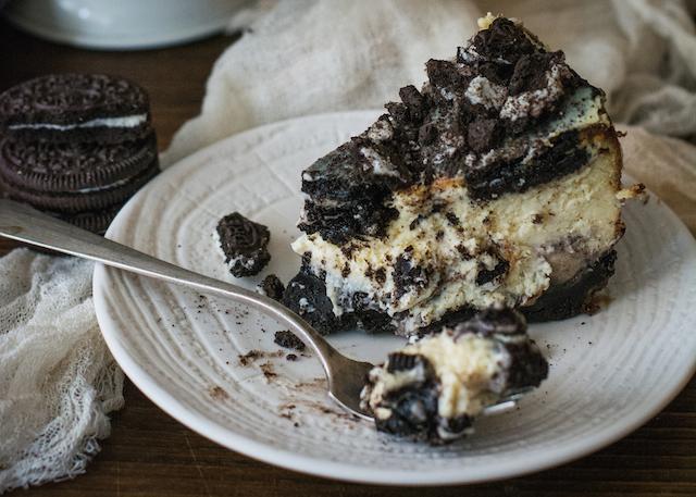 Cheesecake de Oreo La mejor tarta de queso de galletas oreo