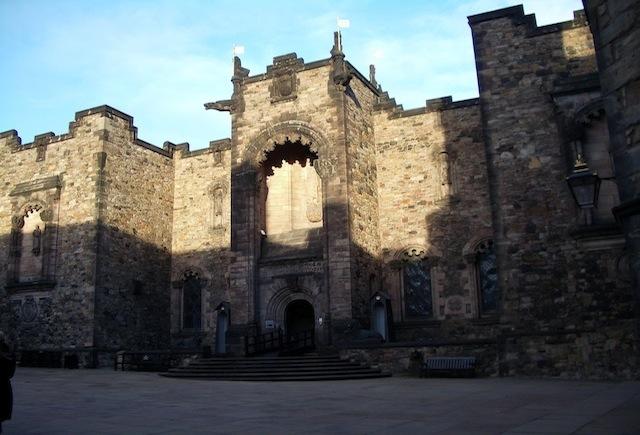 El Castillo de Edimburgo y su fantasma errante perdido
