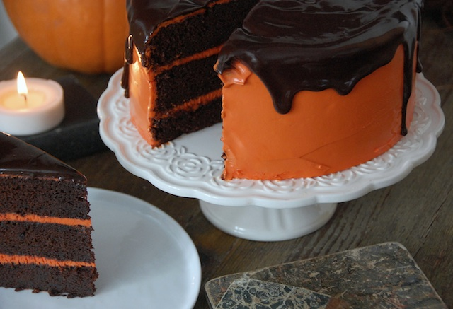 Tarta de chocolate con calabaza… Halloween is coming!
