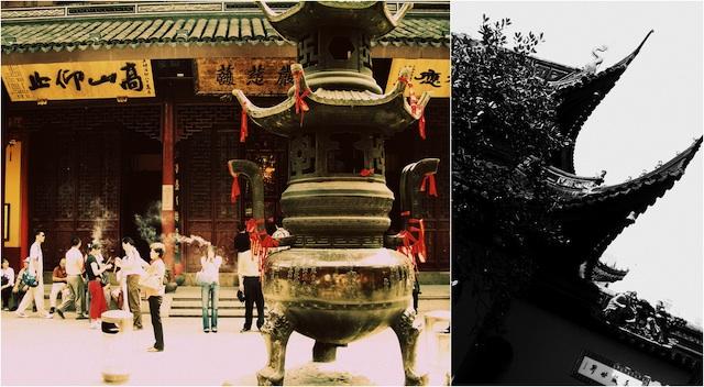 El Templo del Buda de Jade. Shanghai