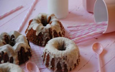 """Mini bundt cakes de mantequilla """"quemada"""""""