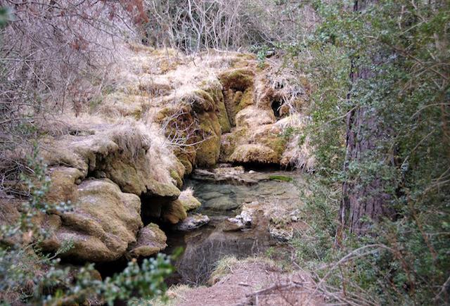 El nacimiento del río Cuervo, Cuenca