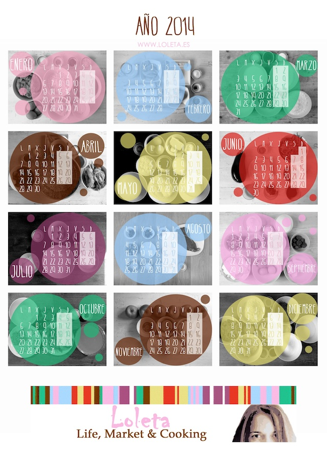 Calendario Loleta 2014 640