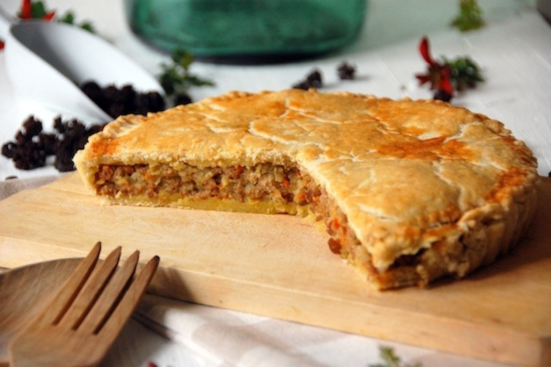 Corned Meat Pie – Pastel de carne inglés