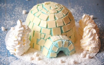 Tarta Igloo… ¡qué frío!