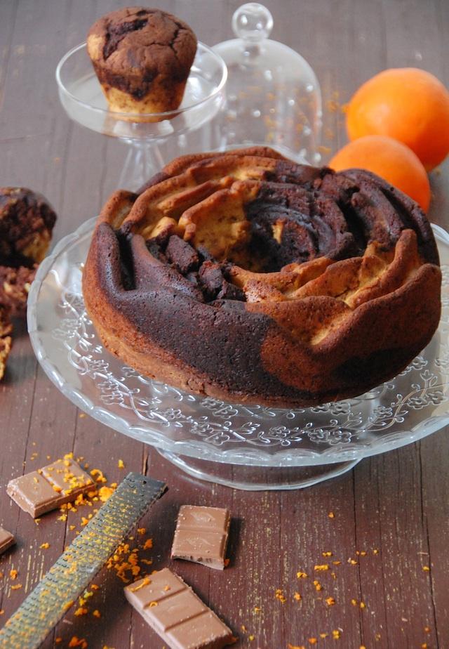 BUNDT CAKE MARMOL CHOCOLATE NARANJA LOLETA 1