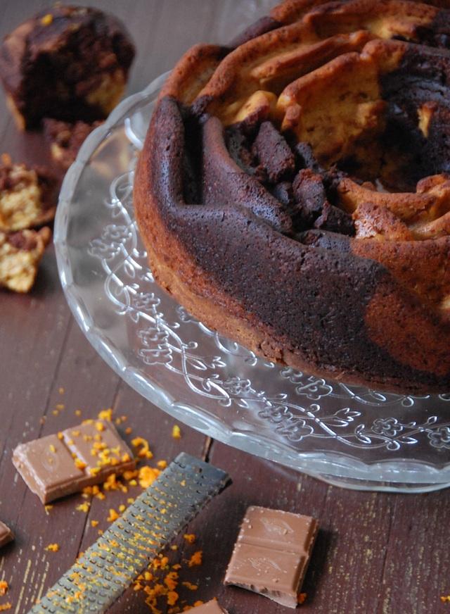 BUNDT CAKE MARMOL CHOCOLATE NARANJA LOLETA 2