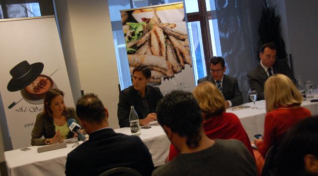 We eat gourmet Meeting Málaga