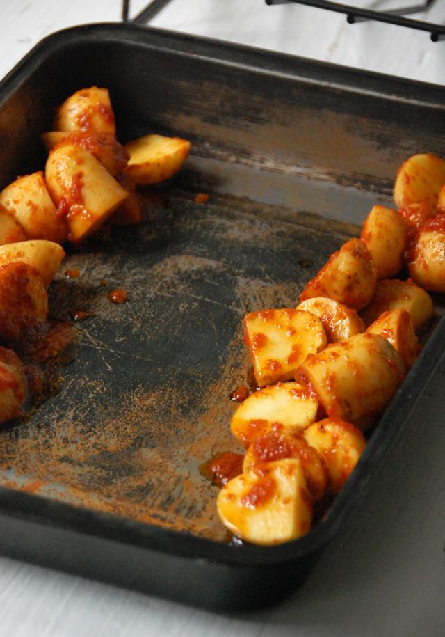Pollo asado con patatas picantes Loleta 10