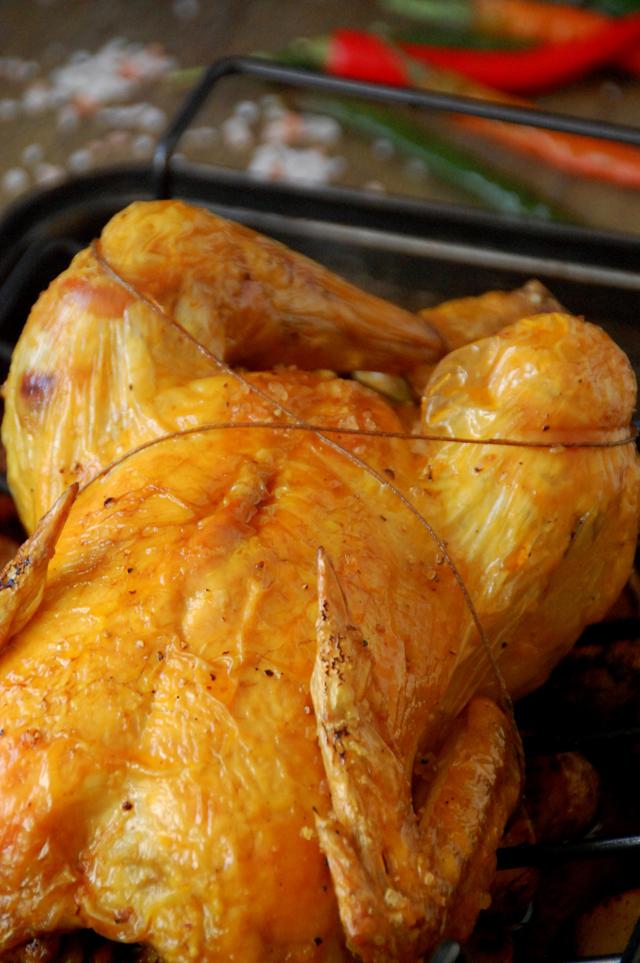 Pollo asado con patatas picantes Loleta 18