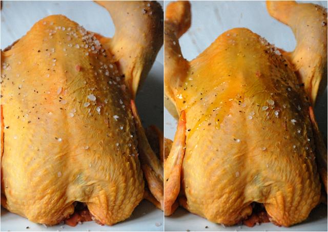 Pollo asado con patatas picantes Loleta 4