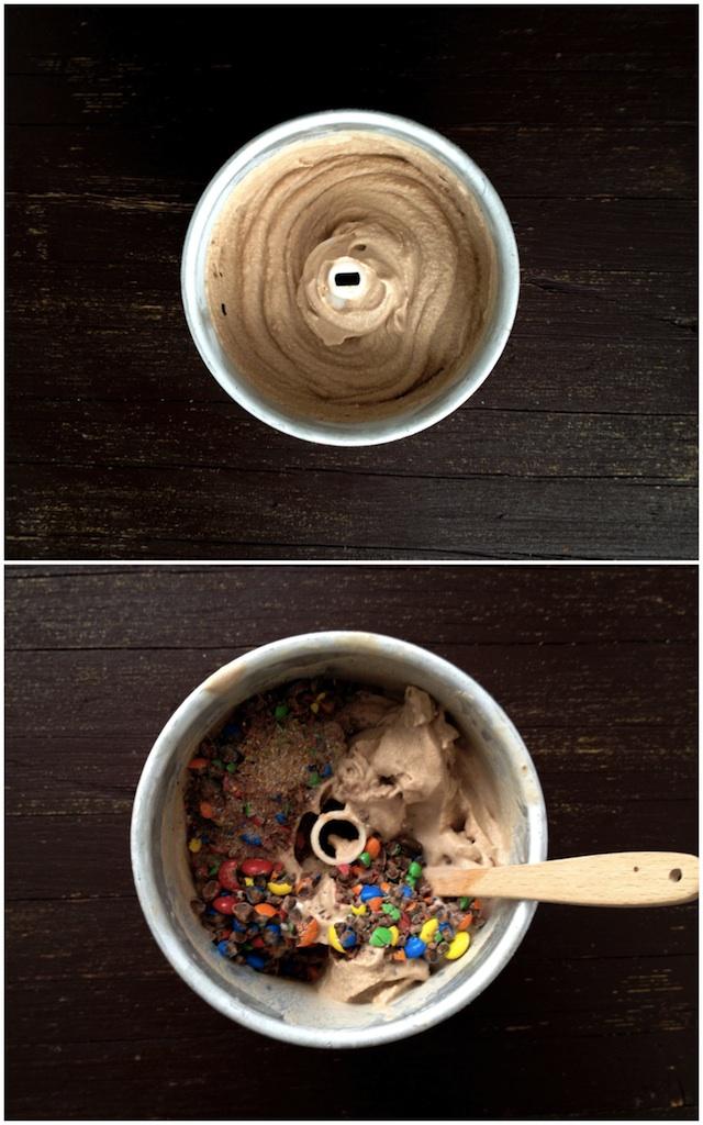 helado de m&m's 6