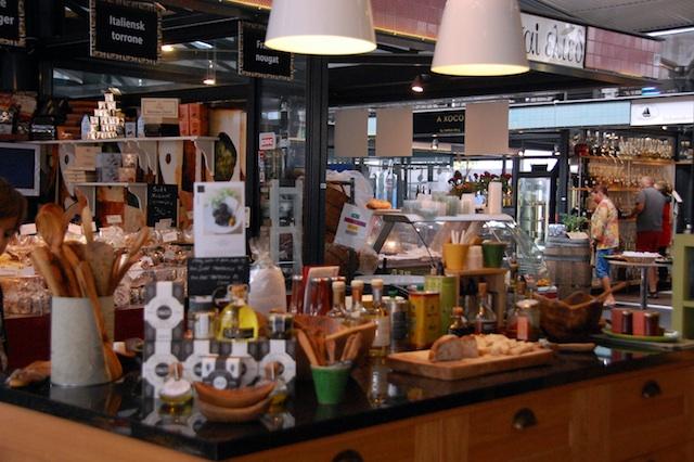 El mercado de Torvehallerne, Copenhague