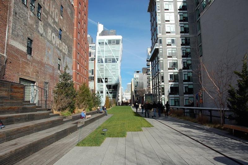 Nueva York por las alturas. Un paseo por el High Line