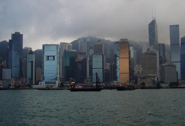 Una panorámica de Hong Kong