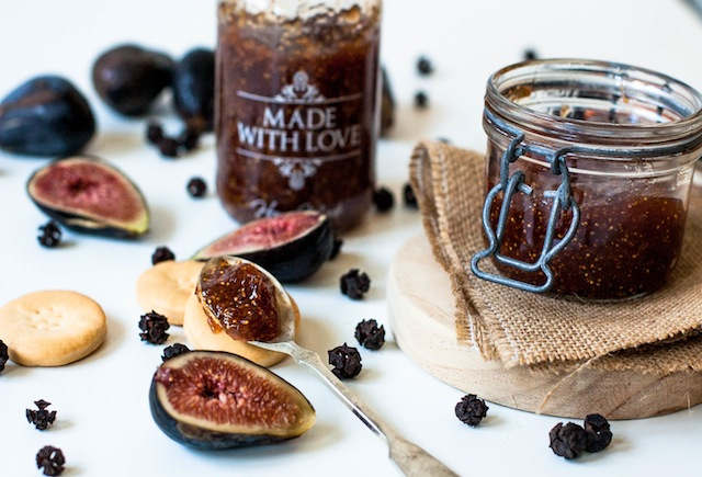 Fig Jam. Home-made for you