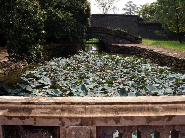 La tumba de Tu Duc. El último emperador de Vietnam.
