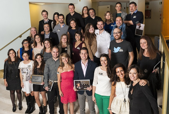 Cocineros Blogueros 2014: la cena de Canal Cocina