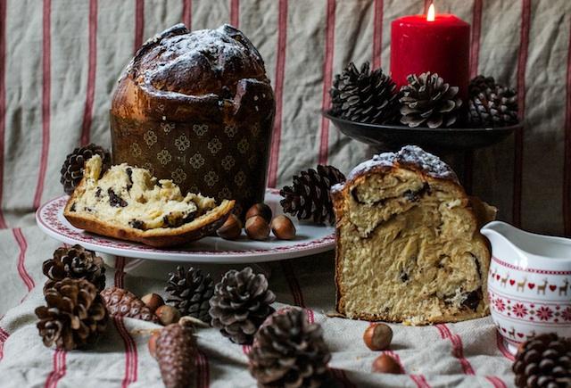 Receta de Panettone. El pan dulce milanés de Navidad