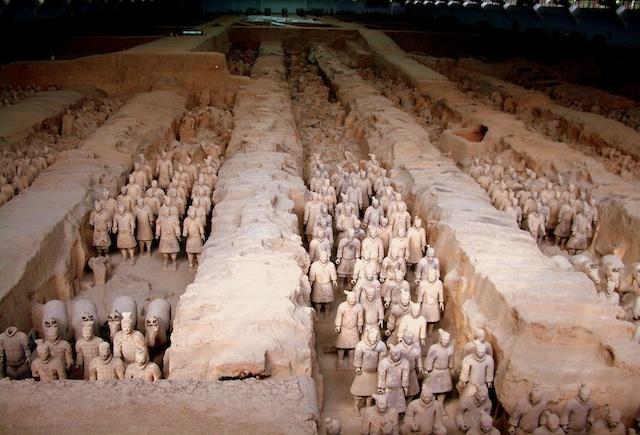 Xian: los soldados de terracota de un ejército milenario