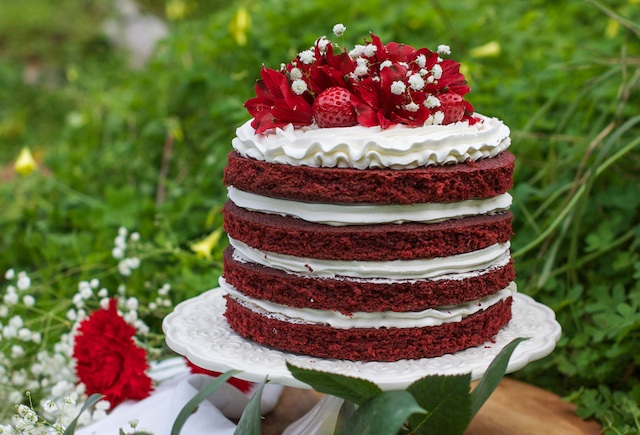 The Red Velvet Cake by Loleta