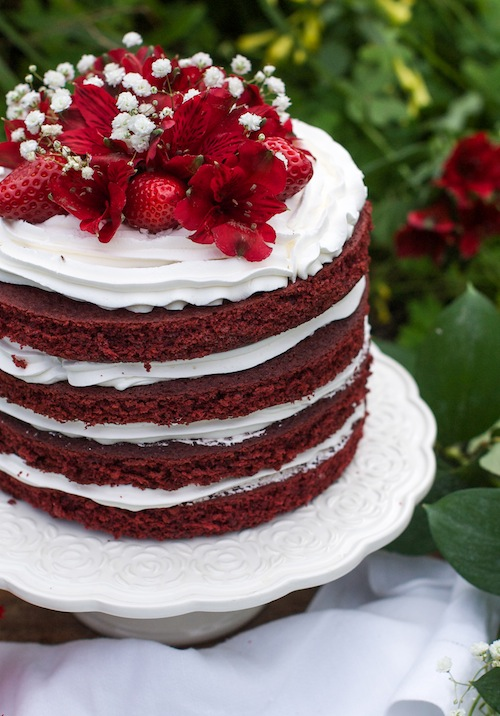 Make A Red Velvet Birthday Cake