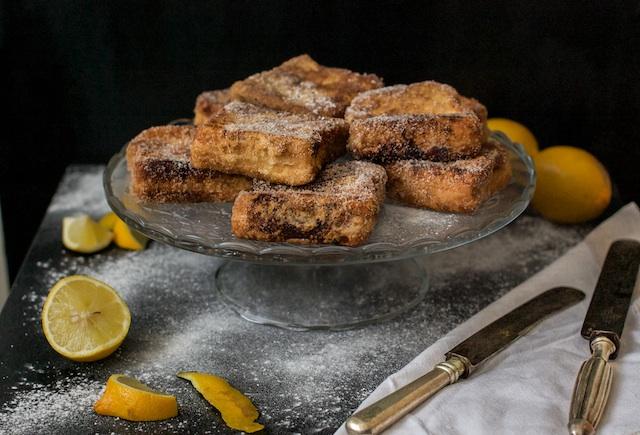 Torrijas tradicionales | Con canela y azúcar