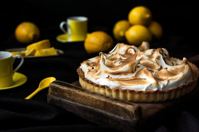 Postres fáciles. Tarta de limón y merengue