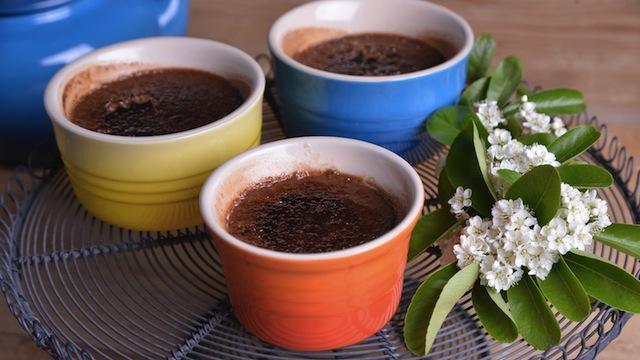 Créme brulée de crema de cacao con avellana